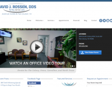 Rossen Dental Website