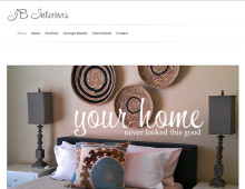 JB Interiors Website