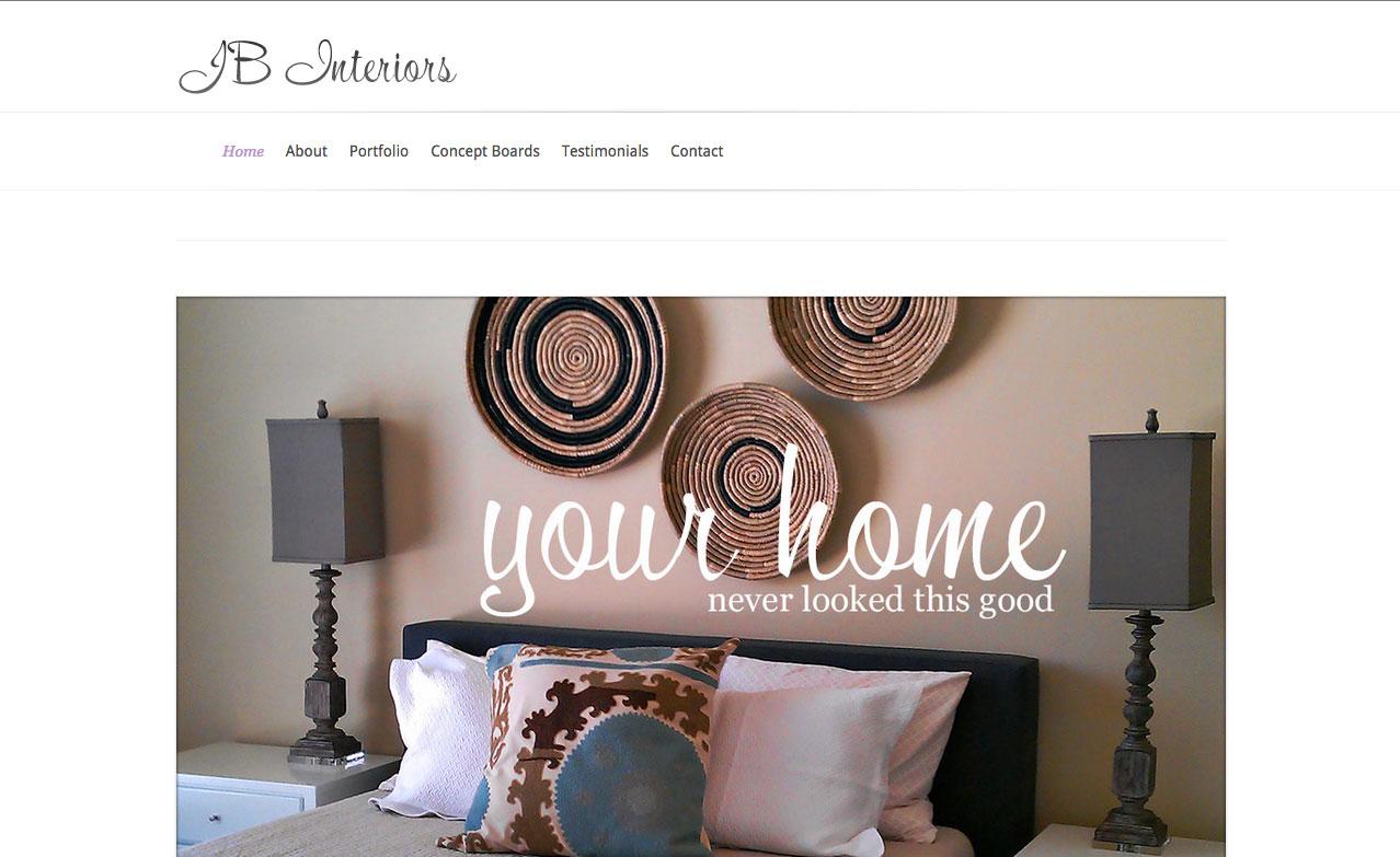 JB Interiors Website