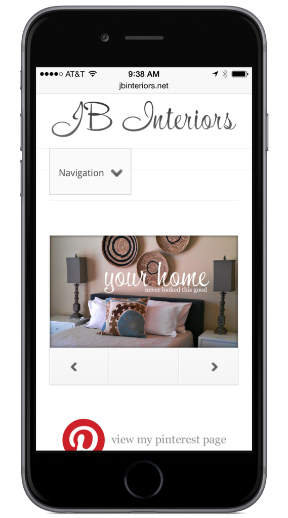 JB Interiors Website Design